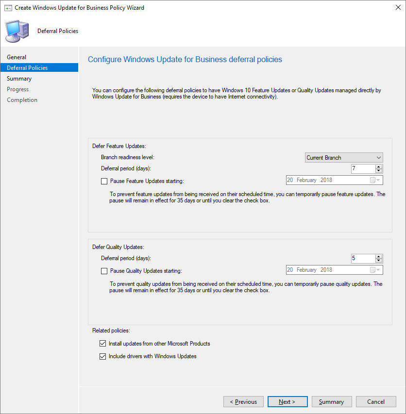Windows Update for Business Policy in SCCM - Triple Six Seven