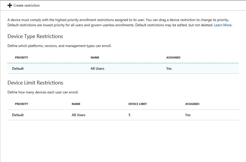 Block Personal Android Devices from Enrolling in Intune