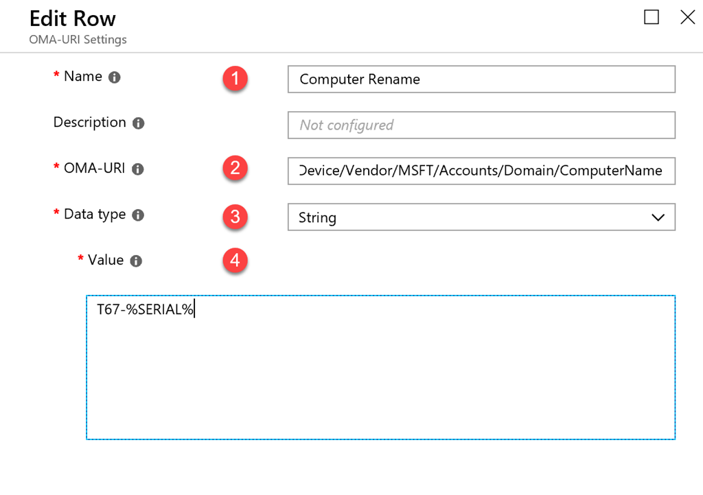 Renaming Windows Devices in Intune - Triple Six Seven