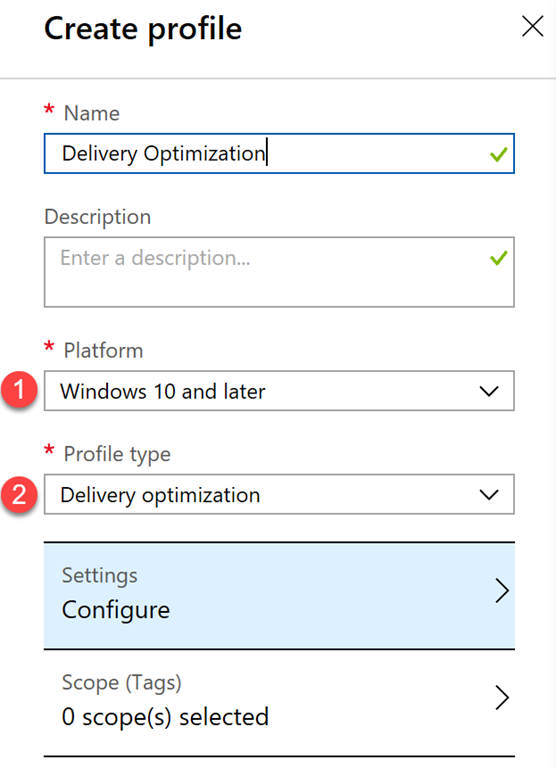 Migrate Delivery Optimization Settings from Update Rings to a