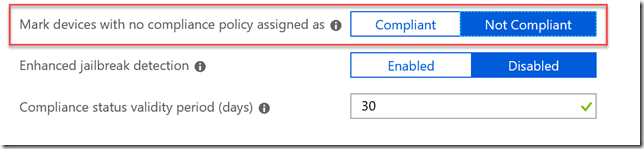Built-in Device Compliance Policy Intune - Triple Six Seven