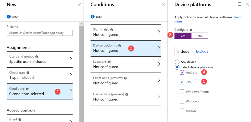 Forcing Outlook with Conditional Access - Triple Six Seven