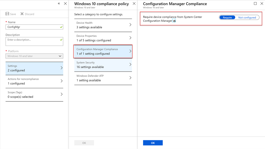 Co-Management – Combined Compliance from Both Intune and SCCM